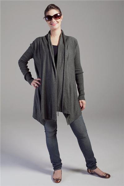 Moda Gestante - Wrap Paris, Regata Samba e Calça Jeans Skinny - Maria Barriga