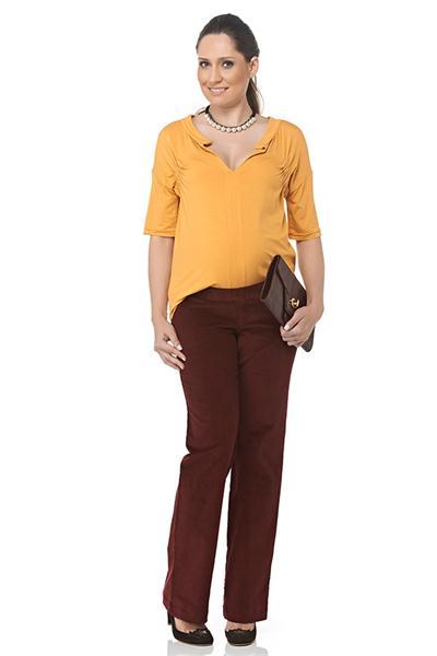 Moda Gestante - Calça Cleo - Maria Barriga