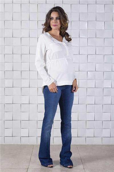 6d271cc6bd7e0b Jeans para Gestante - Moda Gestante   Roupas para Gestantes