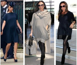 Victoria Beckham gravida - moda gestante