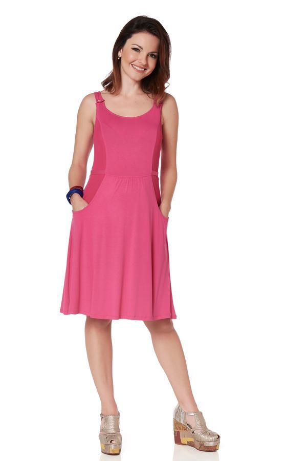 moda-gestante-vestido-rosa