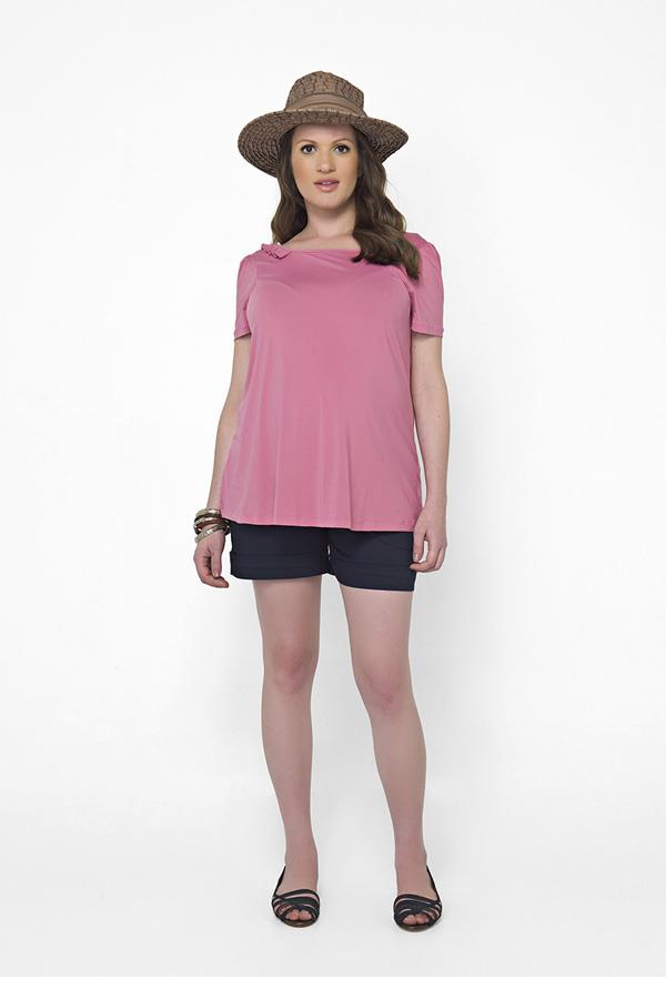 moda-gestante-short-rosa